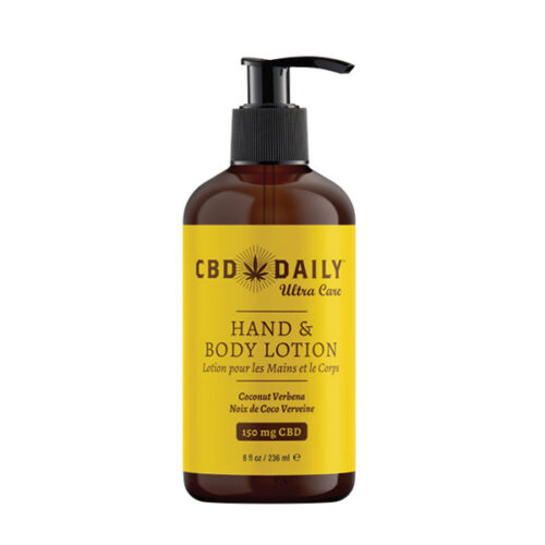 CBD Daily Hand and Body Lotion
